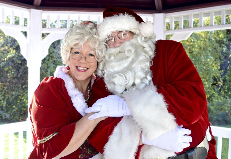 026405dbb0fbd Santa and Mrs. Claus welcome everyone aboard Santa s Magical Express!